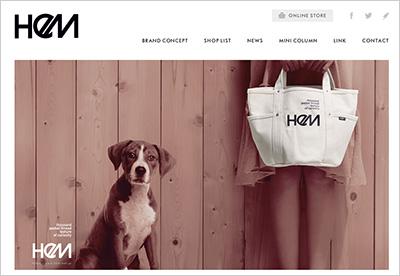 「HeM」公式サイト