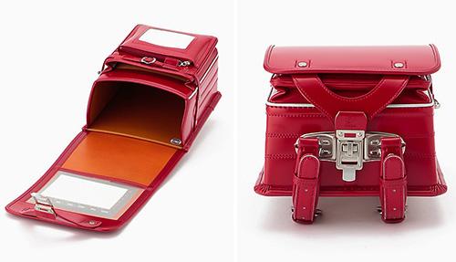 大峽製鞄×伊勢丹のコラボランドセル「コードバン」レッド