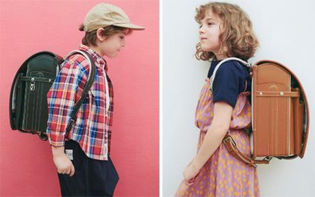 大峽製鞄×こどもビームス ランドセルイメージ
